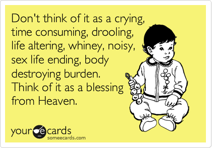 Don't think of it as a crying,
