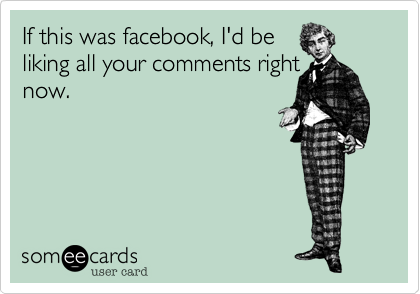 If this was facebook%2C I'd be
