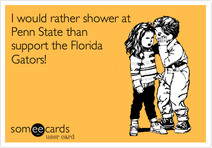 I would rather shower at