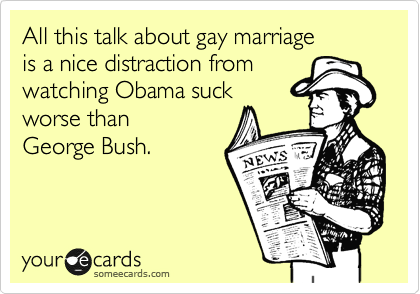 All this talk about gay marriage