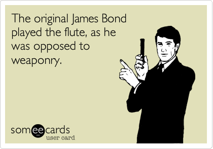 The original James Bond