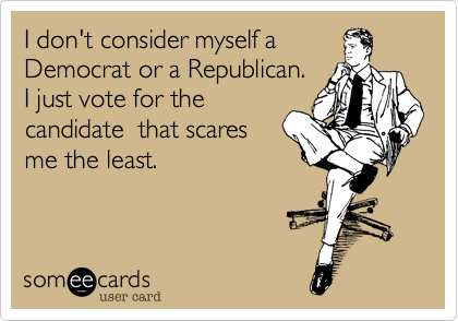 I don't consider myself a 