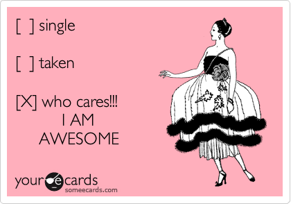 [  ] single