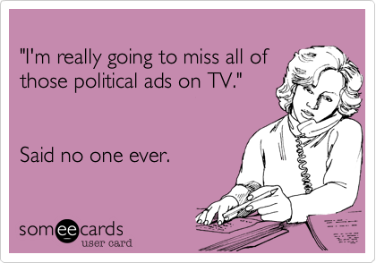 """I'm really going to miss all of 