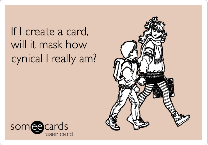 If I create a card, 