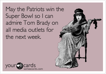 May the Patriots win the