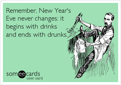 Remember, New Year's