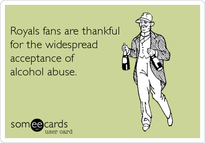 Royals fans are thankful