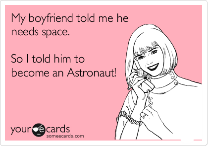My boyfriend told me he