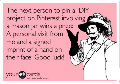 The next person to pin a  DIY