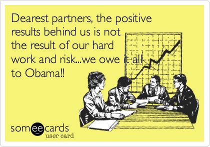 Dearest partners, the positive results behind us is not