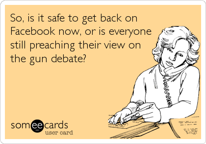So, is it safe to get back on