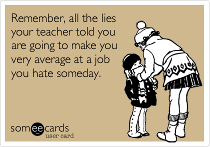 Remember, all the lies