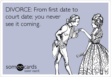 DIVORCE: From first date to 