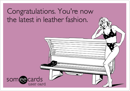 Congratulations. You're now