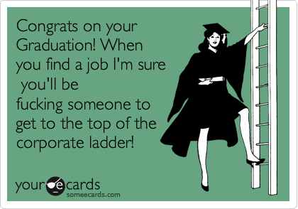 Congrats on your