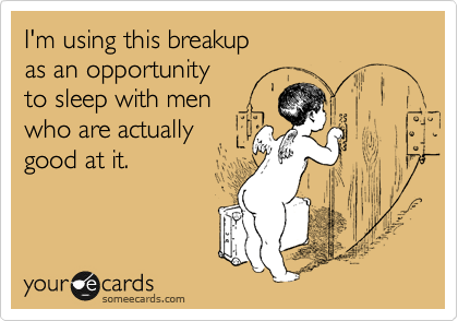 I'm using this breakup