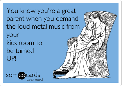 You know you're a great