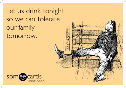 Let us drink tonight, 