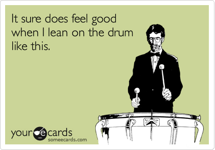 It sure does feel good