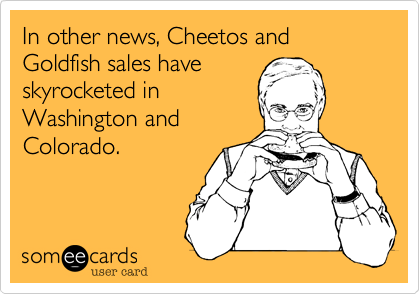 In other news, Cheetos and Goldfish sales have