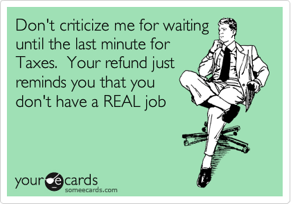 Don't criticize me for waiting
