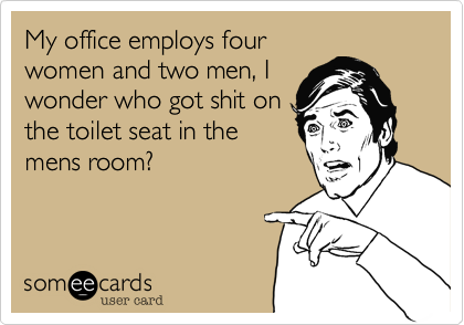 My office employs four