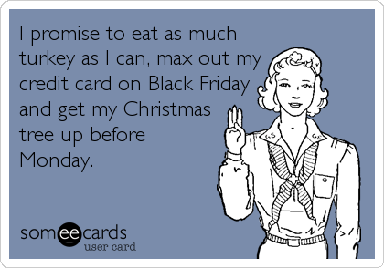 I promise to eat as much