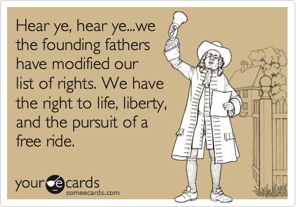 Hear ye, hear ye...we