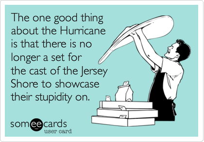 The one good thing