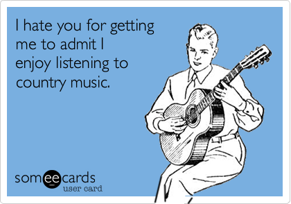 I hate you for getting 