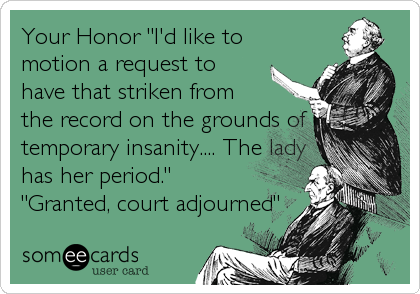 "Your Honor ""I'd like to