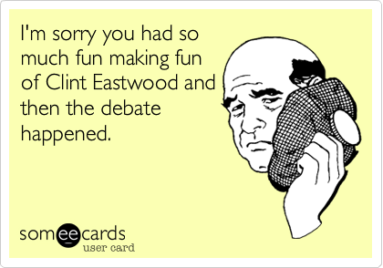 I'm sorry you had so