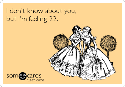 I don't know about you,