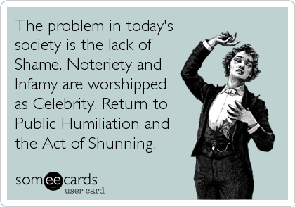 The problem in today's