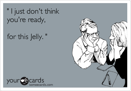 """ I just don't think 