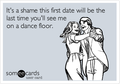 It's a shame this first date will be the
