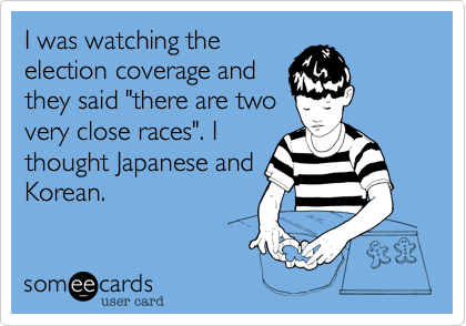 I was watching the