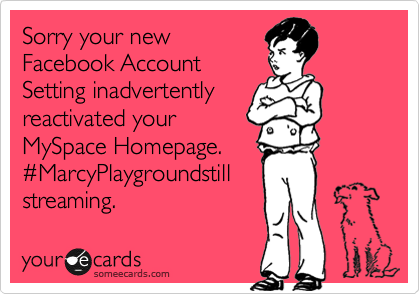 Sorry your new