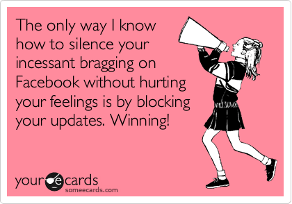 The only way I know
