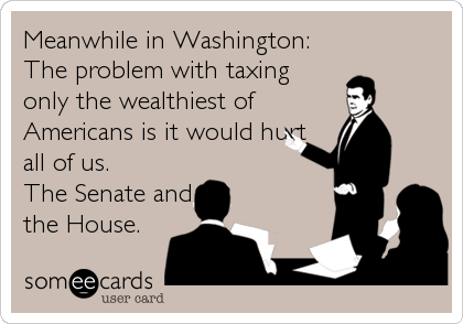 Meanwhile in Washington: