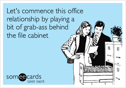 Let's commence this office