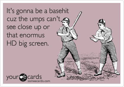 It's gonna be a basehit