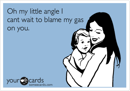 Oh my little angle I