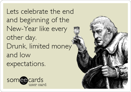Lets celebrate the end