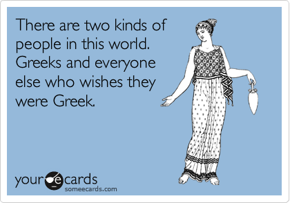 There are two kinds of