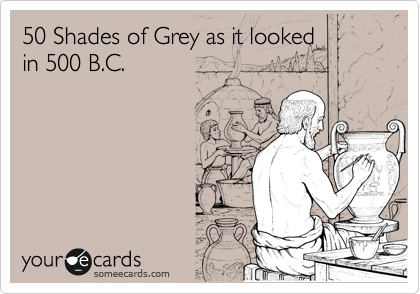 50 Shades of Grey as it looked