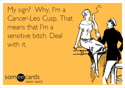 Dating a cancer leo cusp woman