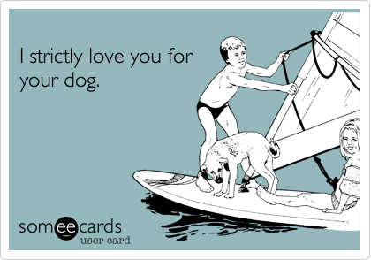 I strictly love you for 