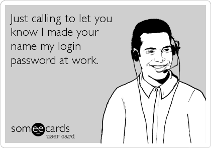 Just calling to let you